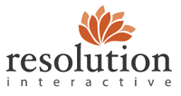 A great web designer: Resolution IM, Toronto, Canada logo