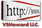 A great web designer: VSHoward Web Design, New York, NY logo