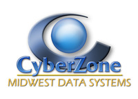 A great web designer: CyberZone, Inc., Green Bay, WI logo