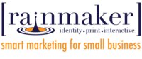 A great web designer: Rainmaker, Spokane, WA logo