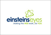 A great web designer: Einstein's Eyes, Dallas, TX logo