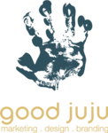 A great web designer: Good Juju Branding, Dallas, TX logo