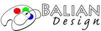 A great web designer: Balian Design, Minneapolis, MN logo