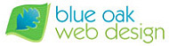 A great web designer: Blue Oak Web Design, Marin County, CA logo