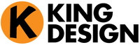 A great web designer: KING DESIGN, Philadelphia, PA logo