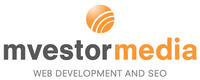 A great web designer: Mvestor Media, Las Vegas, NV logo