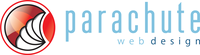 A great web designer: Parachute Web Design, Calgary, Canada