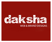 A great web designer: DakshaDesign, Harrison, NJ logo