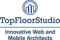 A great web designer: TopFloorStudio, Asheville, NC logo