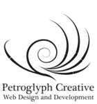 A great web designer: Petroglyph Creative, Albuquerque, NM logo