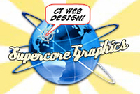 A great web designer: Supercore Graphics, New Haven, CT logo