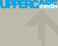 A great web designer: UPPERCASEmedia, London, United Kingdom logo