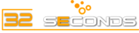 A great web designer: 32 Seconds Media, Toronto, Canada logo