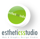 A great web designer: Estheticsstudio, Indore, India logo