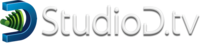 A great web designer: StudioD.tv, Atlanta, GA logo
