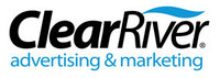 A great web designer: ClearRiver Advertising and Marketing, Midland, MI logo