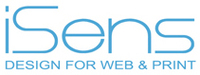 A great web designer: iSens design studio, Shanghai, China logo