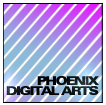 A great web designer: Phoenix Digital Arts, Leicester, United Kingdom logo
