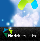 A great web designer: Findr Interactive, New York, NY logo