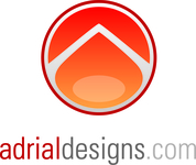 A great web designer: Adrial Designs, Inc., Raleigh, NC logo