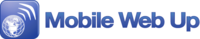 A great web designer: Mobile Web Up, San Francisco, CA logo