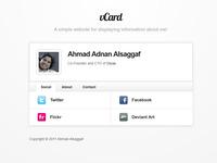 A great web designer: Ahmad Alsaggaf, Jeddah, Saudi Arabia logo