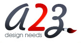 A great web designer: a2z design needs, Hyderabad, India logo