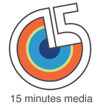 A great web designer: 15 minutes media, New York, NY logo