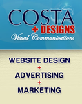 A great web designer: Costa Designs Inc., Virginia Beach, VA logo