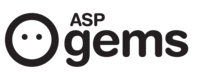 A great web designer: ASPgems, Madrid, Spain logo