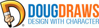 A great web designer: Doug Draws, Grand Haven, MI