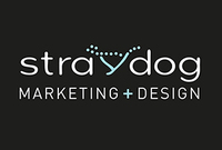 A great web designer: Straydog Marketing+Design, Vancouver, Canada logo