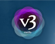 A great web designer: v3 Media UK LTD, Eden, United Kingdom logo