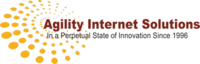 A great web designer: Agility Internet Solutions, Providence, RI logo