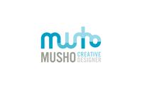 A great web designer: musHo.sk, Bratislava, Slovakia logo