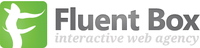 A great web designer: FluentBox, Bucharest, Romania logo