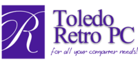 A great web designer: Toledo Retro PC, Toledo, OH logo