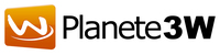 A great web designer: Planete3W, Paris, France logo