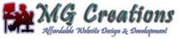 A great web designer: MG Creations, Pietermaritzburg, South Africa