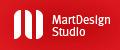 A great web designer: MartDesign Studio, Novosibirsk, Russia logo