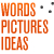 A great web designer: Words Pictures Ideas, San Francisco, CA logo