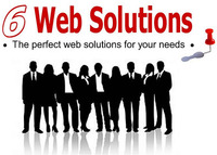 A great web designer: Six Web Solutions, Montreal, Canada logo
