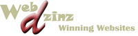 A great web designer: Webdzinz Winning Websites, Auckland, New Zealand logo