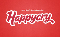 A great web designer: Happycry, Liverpool, United Kingdom logo