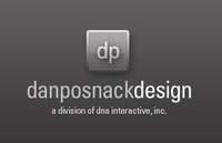 A great web designer: Dan Posnack Design, Minneapolis, MN logo