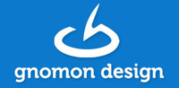 A great web designer: gnomon design, Thessaloniki, Greece logo