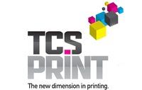A great web designer: TCS Print, New York, NY logo