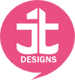 A great web designer: Janel T Designs, Los Angeles, CA logo