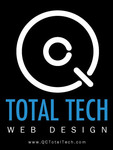A great web designer: QC Total Tech, Quad Cities, IA logo