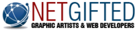 A great web designer: NetGifted, Montreal, Canada logo